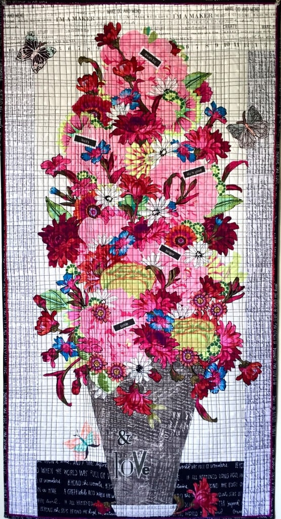 Big Love Bouquet Collage pattern