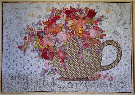 My Cup Overflows Collage Paper Pattern Marveles Art